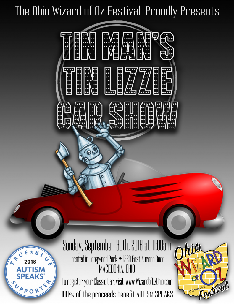 Tin Mans Tin Lizzie Car Show Ohio Wizard Of Oz Festival - Is there a car show near me today