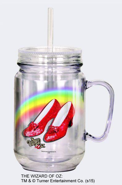 ruby slippers mason jar