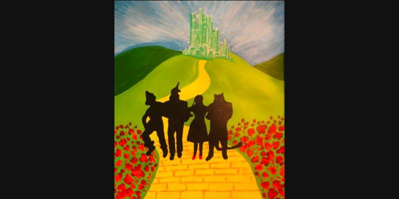 Wizard of Oz artist paint